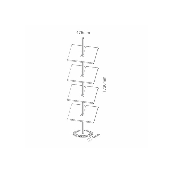 folderrek Designline 3 a4-3